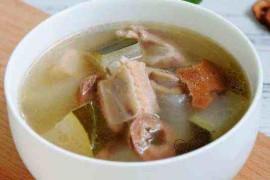 送你一款养胃的陈皮排骨汤
