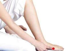 下肢水肿:脾的水湿运化不利