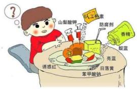 孩子老生病的原因之一:乱吃东西
