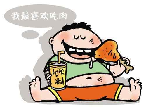 孩子爱吃肉的危害、吃肉积食了怎么办.jpg